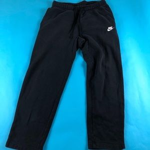 Awesome Black,and white Nike Jogging sweatPants